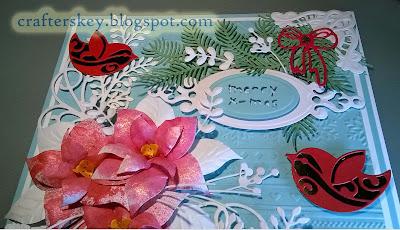 Marianne Design COL1393 Lr0285 6002/0065 Elizabeth Craft Birds Ced1426 Ced1427 Memory Box Die 98968 Bells (Cc-022) Spellbinders  (S4-377) Xcu 515913