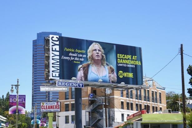 Escape at Dannemora Emmy FYC billboard