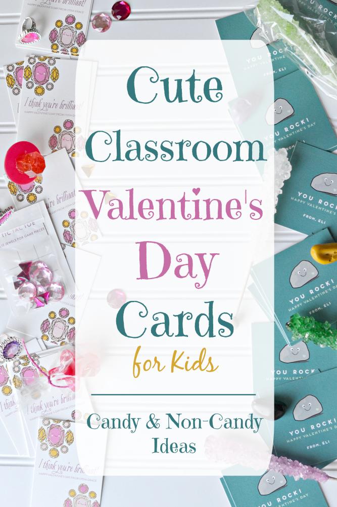 The Life of Jennifer Dawn Cute Classroom Valentines Day Cards – Classroom Valentine Card Ideas