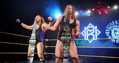 WWE NXT Undisputed Era Matt Riddle Pete Dunne Broserweights