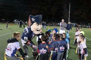 New England Patriots mascot, Pat Patriot