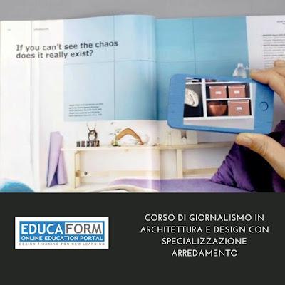 Corsi Design Di Interni.Educaform Corsi Di Formazione Corso In Giornalismo Dell