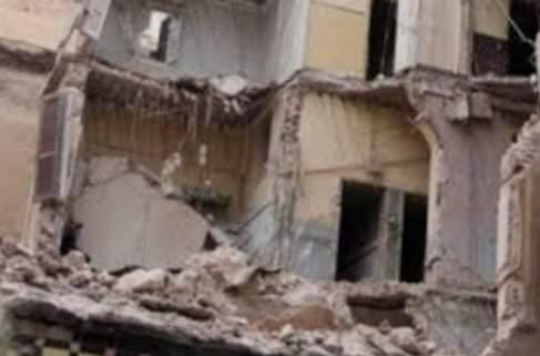 اصابة شخصين في انهيار أجزاء من عقار قديم بالبلينا فى سوهاج