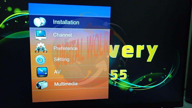 Discovery DR-555 X8 HD RECEIVER 1506TV-512-4M-SOG-V9.08.01-2 SOFTWARE