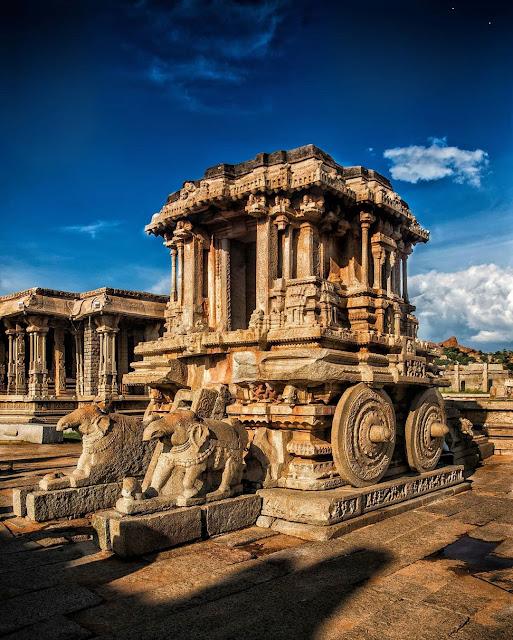 50 rupees note tourism in India Hampi