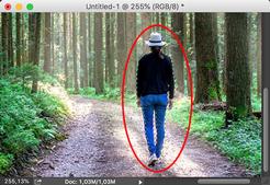 cara membuat efek terbalik di photoshop