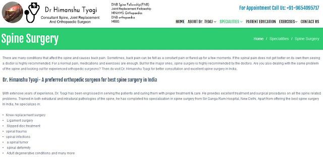 https://www.drhimanshutyagi.in/spine-surgery.html