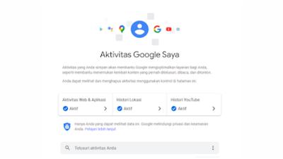 3 Cara Hapus Aktivitas Saya Di Google