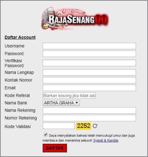 Daftar RajasenangQQ Situs Judi Poker Online Terpercaya