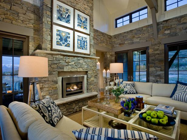 . Modern Furniture  HGTV Dream Home 2012   Living Room Pictures