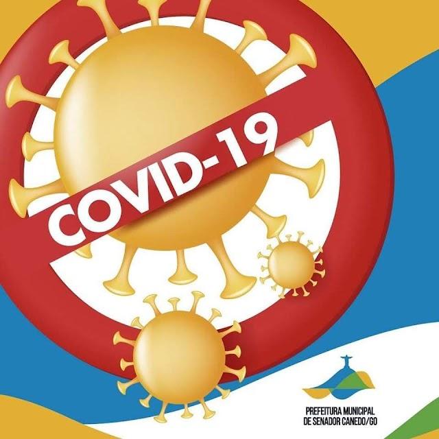 Senador Canedo tem quatro casos confirmados de COVID-19
