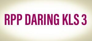 Download RPP Daring Kelas 3  Semester 1 SD/MI