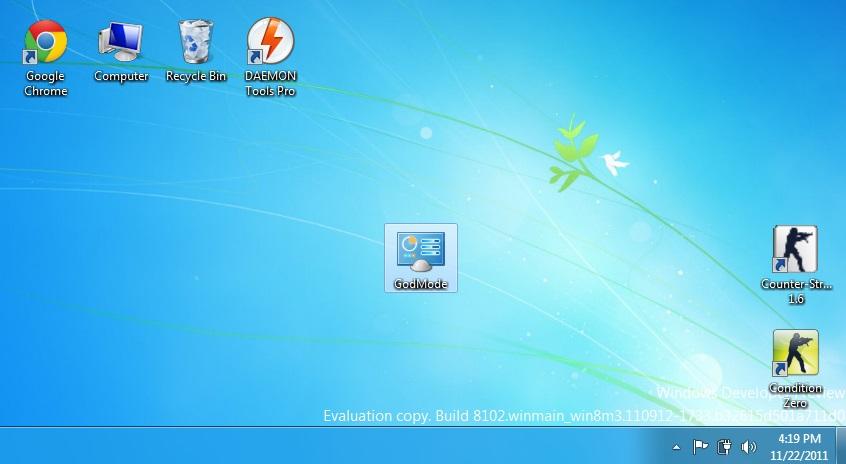 """Thủ thuật kích hoạt chế độ ẩn """"GodMode"""" trên Windows 8"""