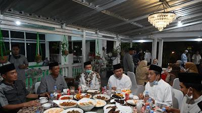 Wabup Sidrap Mahmud Yusuf Gelar Buka Puasa Bersama, Berlangsung Hikmah Dan Penuh Kekeluargaan