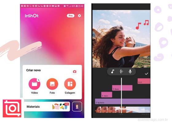 Aplicativos para editar video stories do instagram