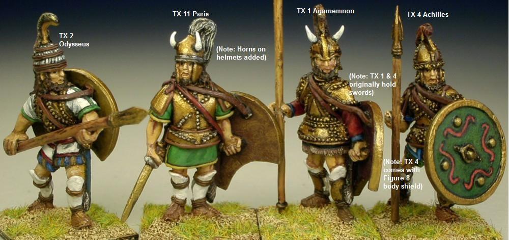 Wab Corner Redoubt Trojan War Characters Revisted