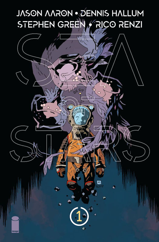 Sea of Stars #1 Mignola cover