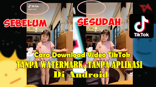 Cara Download Video TikTok Tanpa Watermark Tanpa Aplikasi