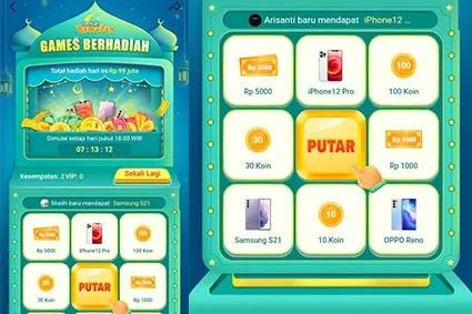 game helo ramadhan 2021 penghasil smartphone