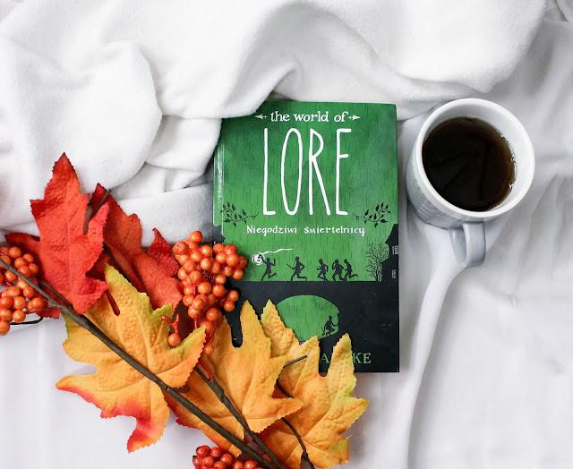 """""""The world of lore: niegodziwi śmiertelnicy"""" Aaron Mahnke"""