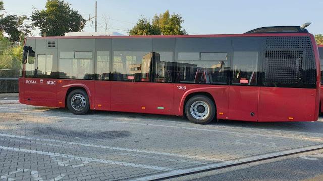 Arrivati 20 nuovi bus nella rimessa di Acilia