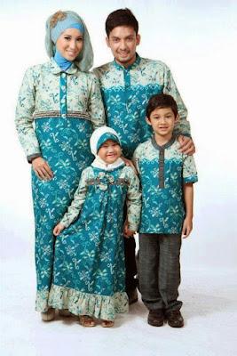 Baju Batik Keluarga Plus Anak Paling Murah