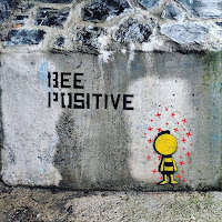 Images of Dublin Street Art: Bee Positive