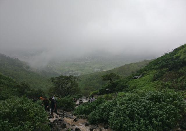 Visapur fort trek, monsoon trek to visapur