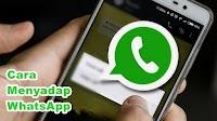Cara Menyadap WhatsApp Orang Lain di Android