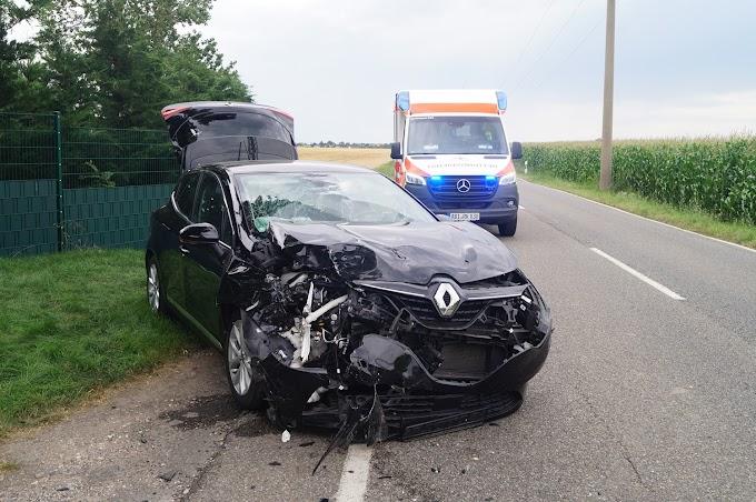 Unfall auf der L141 bei Löberitz