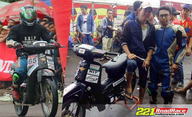 RACING GAK HARUS MAHAL, Coba Pakai Honda Astrea, Menang Kalah Ora Masalah