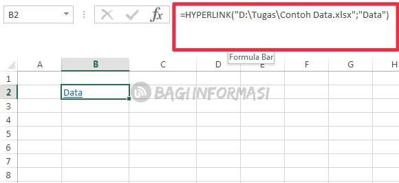 cara membuat link antar file di excel