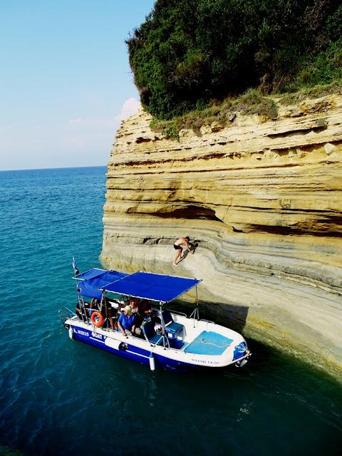 Jak przepłynąć Kanał Miłości na Korfu