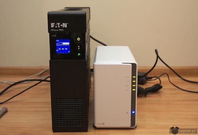 EATON Ellipse Pro 1200 podłączony do Synology DS216j