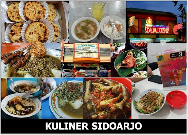 10 Top Kuliner Sidoarjo
