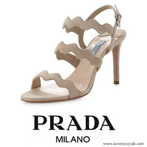 Kate Middleton wore Prada Quazo Sandals