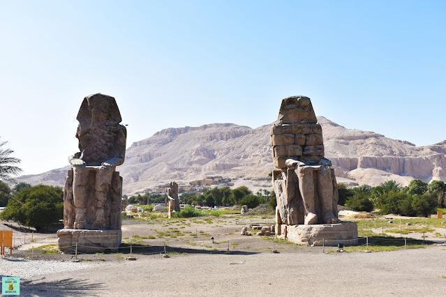 Colosos de Memnón, Luxor