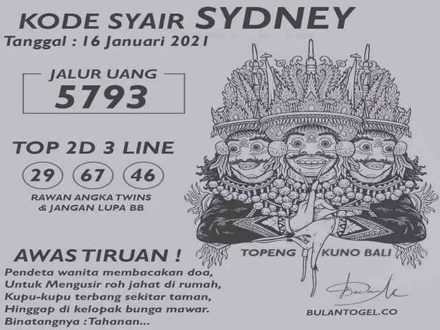 Royal syair sydney
