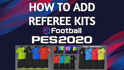 How to Add Referee Kits via RefKit Server PES 2020