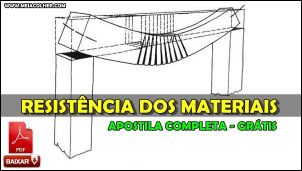 apostila de resistencia dos materiais em pdf