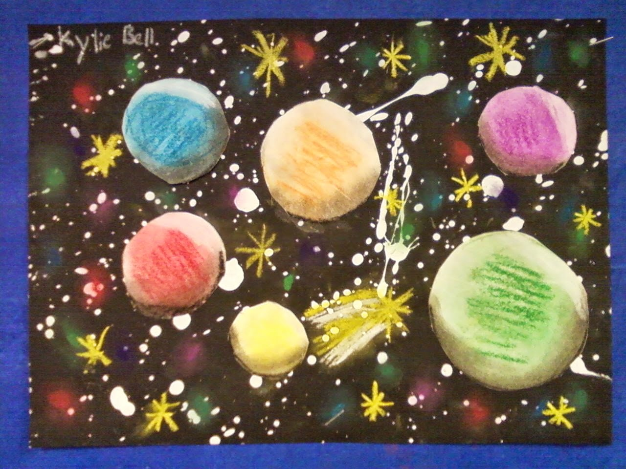 Ppps Elementary Art Rooms Spheres In Space Fourth Grade