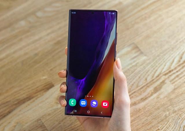 Samsung Galaxy Note20 Ultra Display
