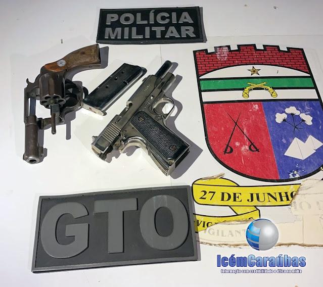Bandidos são baleados durante troca de tiros com GTO sob comando do Major Brilhante no Oeste do RN