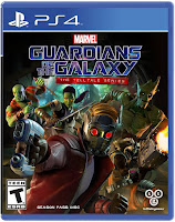 Marvel's Guardians of the Galaxy: The Telltale Series Game Cover PS4