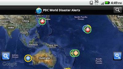 Aplikasi Disaster Alerts