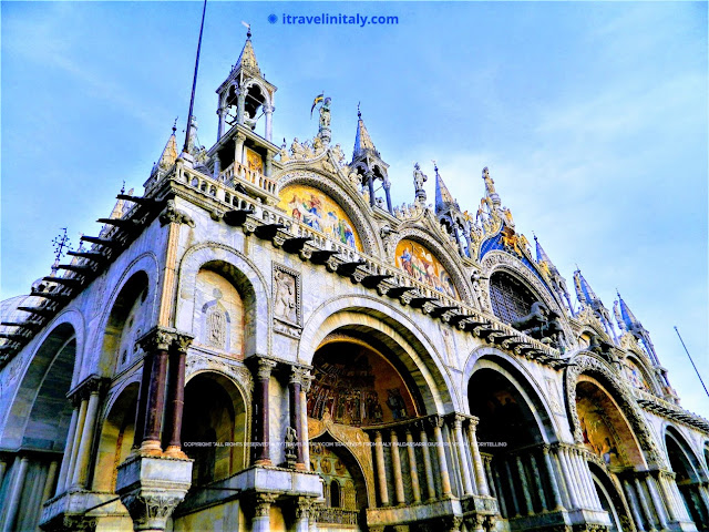 "Saint Mark's Basilica Venezia Copyright ""All rights reserved"" © By itravelinitaly.com Baldassarri Giuseppe Visual Storytelling."