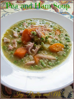 AUTUMNAL PEA AND HAM SOUP