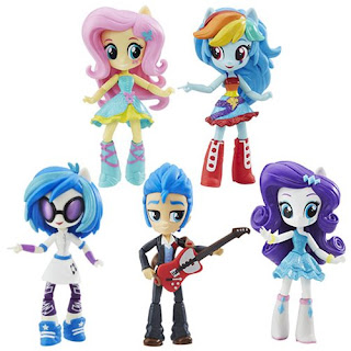 MLP Equestria Girls Minis Series 2 Fall Formal Singles