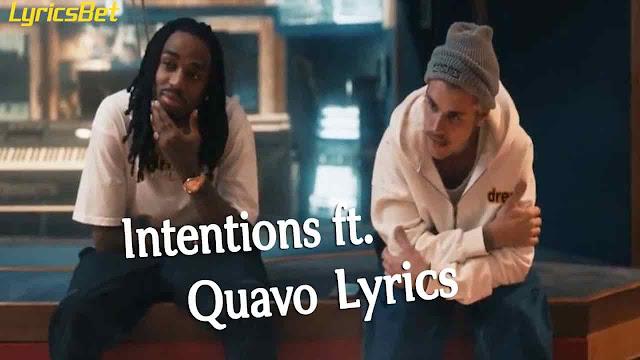 Intentions Lyrics