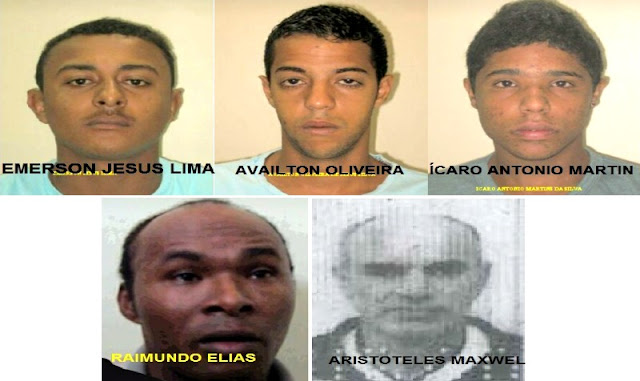 "Policial: 5 presos fugiram do Complexo Policial de Bonfim utilizando ""Tereza"""